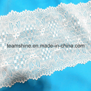 Geometric Figure Jacquard Print Fabric Lace pictures & photos