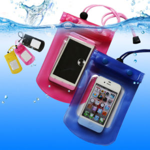 Cell Phone PVC Waterproof Case Bag for Swimming Surfing pictures & photos