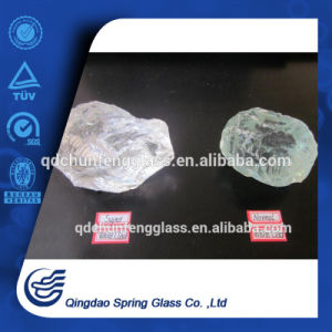 Crystal White Slag Glass Rocks pictures & photos