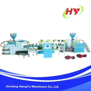 Rotary Type Plastic Sole Injection Molding Machine pictures & photos
