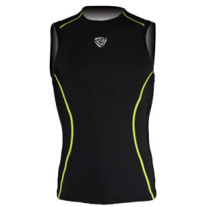 Football Heatgear Sonic Sleeveless Compression T-Shirt (SRC81) pictures & photos