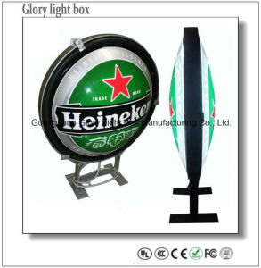 Durable Embossing Illuminated Backlit LED Sign Board pictures & photos
