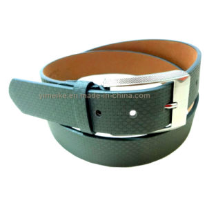 Fashion Braid Grain Leather Belt Men′s Dress Belt pictures & photos