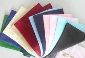 Polyester Cotton 90GSM Colored Pocketing Fabric pictures & photos