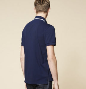 New Design Good Quality Short Sleeves Navy Color Embroidery Men′s Polo Shirt pictures & photos