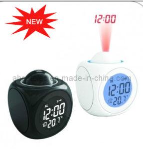 Desk Projection Talking Alarm Clock