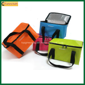 Wholesale Cheap Hot Sale Promotional Cooling Insulated Lunch Bags pictures & photos