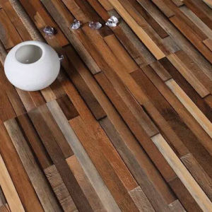 High Quality Modern Color Strips Lamiante Flooring pictures & photos