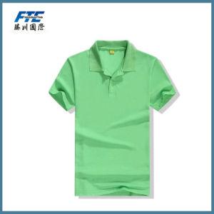 Custom Plain 100% Cotton Polo T-Shirt pictures & photos