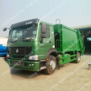 Cnhtc Trash Truck 12m3 Garbage Compactor Truck/Trucks for Sale pictures & photos