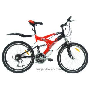 "18 Speed 24""/26"" Full Suspension Mountain Bike (FP-MTB-FLSP002) pictures & photos"