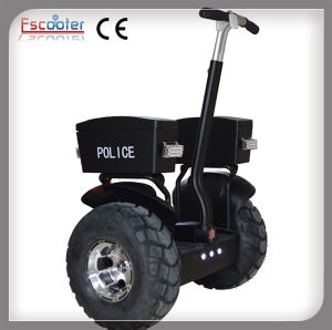 Powerful 72V Lithium Battery Auto Balance Electric Scooter for Police Patrol pictures & photos