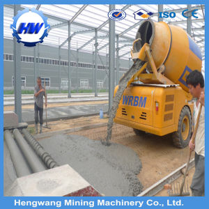 China Manufacturer Self Loading Mobile Concrete Mixer Made in China pictures & photos