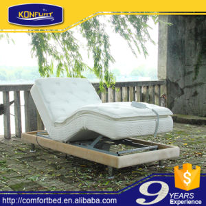 Comfort Furniture Outdoor Activities Electric Bed Adjustable Bed with Bed Skirt pictures & photos