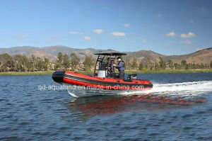Aqualand 21feet 6.4m Rib Patrol/Rigid Infltable Military Boat (rib640t) pictures & photos