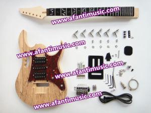 Afanti Music / Ash Body / Ebony Fretboard Iba Style Electric Guitar Kit (AIB-342) pictures & photos