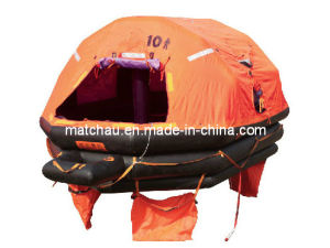 Throw-Overboard Self-Righting Gl and CCS Certificate Inflatable Liferaft pictures & photos