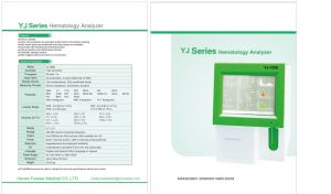 """10"""" LCD Screen 3-Part Auto Cell Blood Counter Hematology Analyzer Yj-7100/Yj-7200 pictures & photos"""