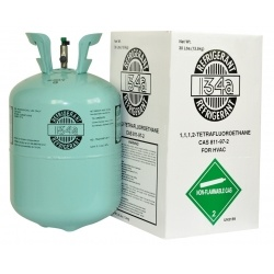 Refrigerant Gas (R134) (HCFC-134A)