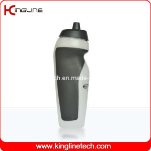 Plastic Sport Water Bottle, Plastic Sport Bottle, 600ml Plastic Drink Bottle (KL-6631) pictures & photos