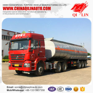 Pitch Transport Tanker Semi Trailer with Insulating Layer pictures & photos