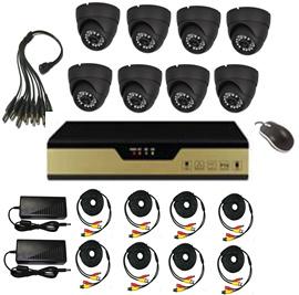 420tvl-700tvl 8CH Dome Camera DVR Kit with 8 Cameras pictures & photos
