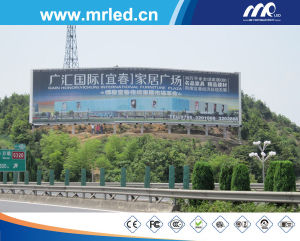 Giant Outdoor LED Panel for Advertising pictures & photos