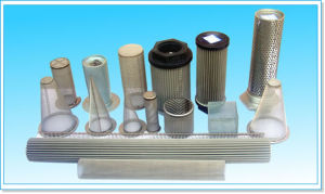 Anping Factory High Quality Stainless Steel 316 Metal Cylinder Filter Element pictures & photos