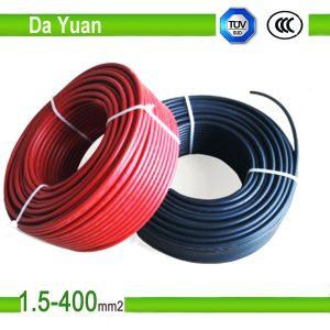 XLPE Insulated Tinned Flexible Copper Wire PV Solar Cable pictures & photos