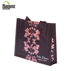 China Manufacture Customized Printed Liminated PP Woven Shopping Bag pictures & photos