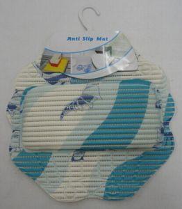 New Design Anti Slip Bath Mat Pillow Set pictures & photos