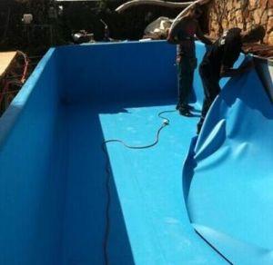 Pond Liner/ Pool Liner/ PVC Geomembrane/ Building Materials/ Roof Materials/ Waterproofing Material/ Waterproof Membrane/PVC Sheet pictures & photos