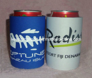 Insulasted Customized Neoprene Can Cooler with Glued Bottom pictures & photos
