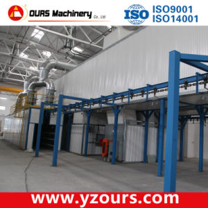 Powder Coating Line with Gas/Diesel/Electric Oven pictures & photos