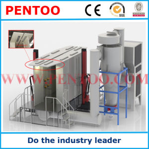Automatic Powder Coating Booth for Painting Parts pictures & photos