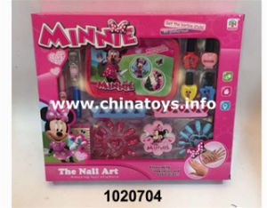 2017 DIY Girl Nail Salon Plastic Accessories Toy (1020712) pictures & photos