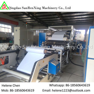 Paper &Aluminum Foil Adhesive Label Coating Laminating Machine pictures & photos