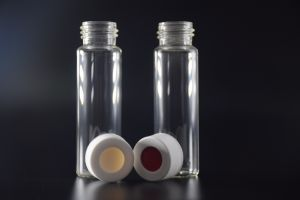 40ml Glass EPA VOA Storage Vials with Cap and PTFE Septa pictures & photos