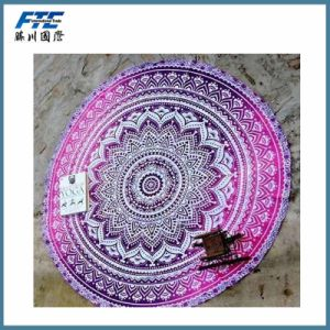 Round Beach Towel with Low MOQ pictures & photos