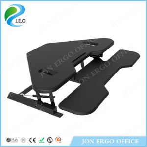 Gas Lifting Height Adjustable Stand up Desk (JN-LD02-T) pictures & photos