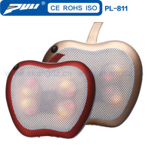 Apple Shaped Shiatsu Massage Cushion. Car Massage Cushion