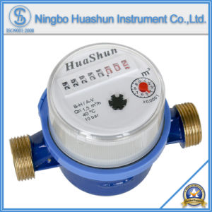 Single Jet Dry Type Brass Body Water Meter (LXSC-15D~40D) pictures & photos