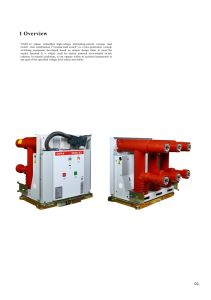Vf (R) -12 Indoor Sealed High-Voltage Alternating-Current Vacuum Load Switch-Fuse Combination pictures & photos