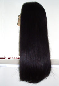 "Top Fashion 100% Virgin European Hair Sheitels Kosher Wigs-24""-Sj051 pictures & photos"