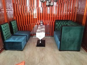 Restaurant Sofa and Table/Restaurant Furniture Sets/Hotel Furniture/Dining Room Furniture Sets/Dining Sets (NCHST-002) pictures & photos