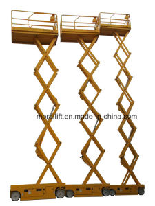 Hot Sale Scissor Hydraulic Self-propelled Lift for Aerial Work pictures & photos