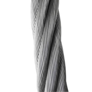 8.0mm 7X7 AISI304 Stainless Steel Wire Rope and Cables