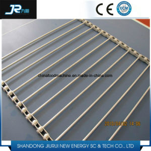 Smooth Running SUS Wire Rope Linked Spiral Mesh Conveyor Belt pictures & photos