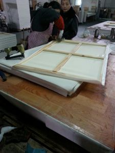 Stretched Canvas Painting Canvas Wooden Canvas Canvas Panels pictures & photos