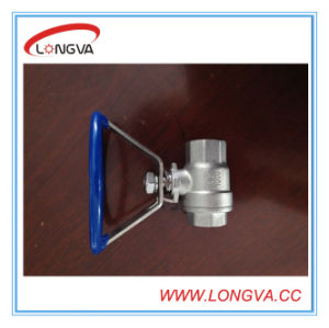 China Manufacturers Fixing Handle Ball Valve pictures & photos